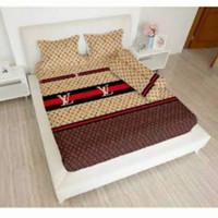 bed cover lady rose sprei karet no2 uk 160x200 motif Louis