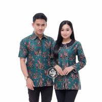 cauple bluse remaja batik pasangan baju pria wanita termurah prw55