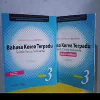PAKET BAHASA KOREA TERPADU PLUS LATIHAN JILID 3 + CD AUDIO