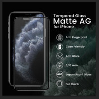 Tempered Glass Matte AG iPhone X XS XR XS MAX 11 11 Pro 11 Pro Max