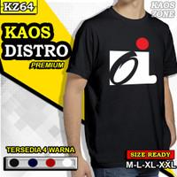 Kaos Baju Tshirt Distro Pria Cowok OI Iwan Fals Musik Keren Music KZ64 - Hitam, L
