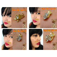 Nath Jepit CLIP / Anting Hidung Nosering India by Indired