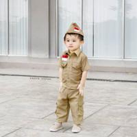 Baju Pejuang Bayi/Baju Pejuang Anak/Baju Pejuang Laki-Laki/Baju Anak