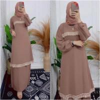 baju gamis wanita dress baju muslim wanita pakaian wanita bajumuslim
