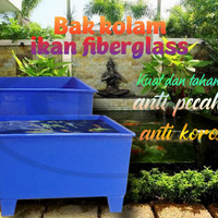 bak ikan fiberglass / aquarium ikan / kolam ikan fiberglass