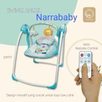 Ayunan bayi otomatis BabyElle baby elle Automatic Baby Swing