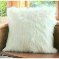 Sarung bantal bulu korea putih uk 40x40