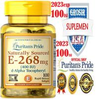 VITAMIN E 400/1000 IU isi 100/50 NAT Puritan USA No C D3 IMUNAntiAging