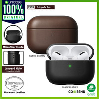 Case Apple Airpods Pro NOMAD Leather Rugged Premium Pouch Casing