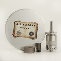Atomizer Vape Artemis Mtl Rta 22MM Steel Authentic By Cthulhu