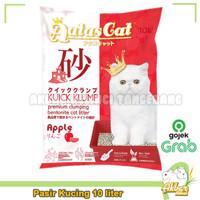Pasir Kucing 10 liter Aatas Cat - Pasir Kucing Gumpal Wangi Apple