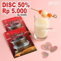 Lychee silky pudding powder 65 gr