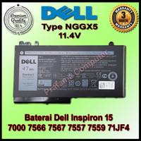 Baterai Dell Inspiron 15 7000 7566 7567 7557 7559 71JF4 357F9 Original