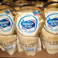 Frisian Flag Susu Kental Manis Bendera Pouch Full Cream Gold 200g