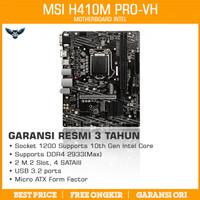 MSI H410M PRO-VH LGA1200 mATX MOTHERBOARD INTEL