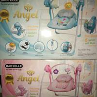 Swing Babyelle Angel/Bouncer Rocker/Ayunan Bayi Electrik Otomatis