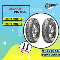 PAKET BAN TUBELESS MAXXIS VICTRA YAMAHA NMAX 120/70 - 140/70 RING 13