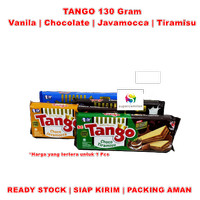 Tango Wafer Renyah 130 gram | Vanila | Cokelat | Javamocca | Tiramisu