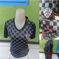 Jersey Baju Bola Cewek Ladies Wanita Kroasia Away 2020-2021 Grade Ori