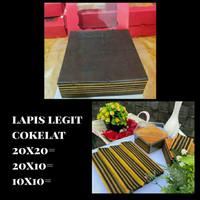 Kue Lapis Legit Coklat - 20x20
