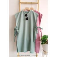 Atasan Kaos Mango Fit XXL / Baju Vest Fashion Wanita Terbaru
