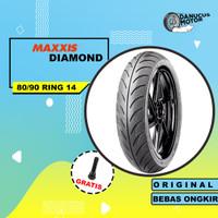 BAN TUBELESS MAXXIS DIAMOND MOTOR MATIC 80/90 RING 14