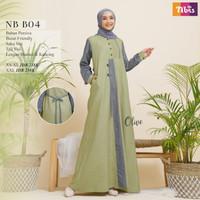 Sale Baju Gamis ORI Nibras NB B04