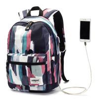 KINMAC WATER COLOR Tas Laptop Backpack Tas Ransel Tas Sekolah