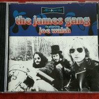 CD A Retrospective The James Gang featuring Joe Walsh - import