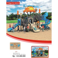 Playground Outdoor 590x260x340 Cm PT-0503, Happy City