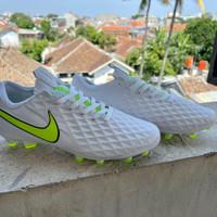 Sepatu Bola Nike Tiempo Legend 8 Pro White Volt FG