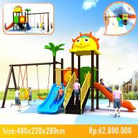 Playground Outdoor 480x220x280