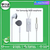 HF Headset samsung A3 A5 A6 A6+ A7 A8 A9 A9 PRO hedset original 100% - Putih