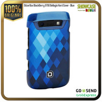 Casing Blackberry 9700 9790 Bellagio Hardcase Softcase Pouch Leather - Hard-Blue