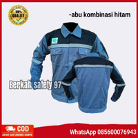 Baju proyek safety K3/werpack atasan baju kerja