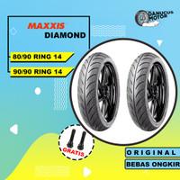 Paket Ban Motor Matic // MAXXIS DIAMOND MA-3DN 80/90 - 90/90 Ring 14