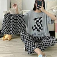 Piyama 769 Import Pajamas 3in1 Bear Anak Perempuan Remaja Wanita