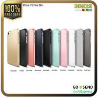 Ringke Casing iPhone 8 Plus 7 Plus Slim Onyx Anti Crack Soft case Ori