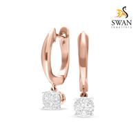 Anting Berlian Rose Gold Swan Jewellery IMER893060