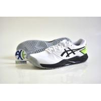 ASICS Gel Challenger 13 White/Green Gecko Sepatu Tenis - 42