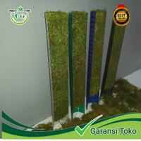 turus plastik warna media tanam penyangga tanaman 50 cm