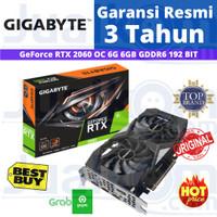 Gigabyte GeForce RTX 2060 OC Edition 6GB GDDR6 192Bit 2Fan VGA RESMI