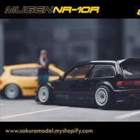 Ban Karet Diecast Sakura Model Mugen NR10R full Resin