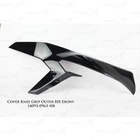 Cover Knee Grip Outer Body SE Hijau Kawasaki ZX-25R Original - Kanan