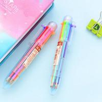 Pen Pulpen Bulpen Bolpen Multi 6 Warna Warni 6 Colour Ballpoint