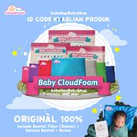 Bantal Anti Peyang Baby CloudFoam Ori 100% - Free Bonus Spesial