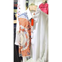 Atasan herm*es lengan panjang blouse import ready stock
