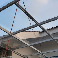 kanopi ataps spandek transparan