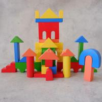 Balok Kastil - City Blocks (FREE packing kardus dan bubble wrap)