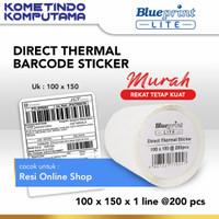 DirectThermalStiker/Label Stiker LITE-BLUEPRINT 100x150x1 Line Isi 200